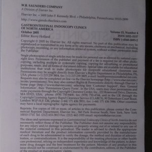 antikvární kniha Colonoscopy Techniques. Gastrointestinal Endoscopy Clinics of North America, neuveden