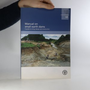 náhled knihy - Manual on small earth dams. A guide to siting, design, and construction.