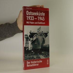 náhled knihy - Ostseeküste 1933-1945