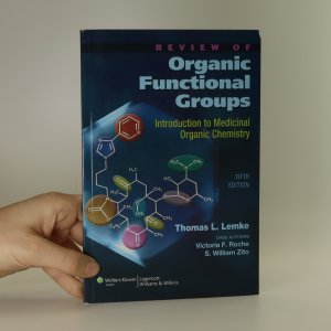 náhled knihy - Review of organic functional groups