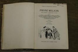 náhled knihy - První milion : kniha humoru z amerického ovzduší
