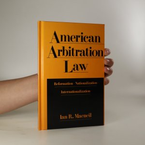 náhled knihy - American Arbitration Law