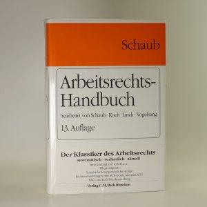 náhled knihy - Arbeitsrechts-Handbuch