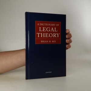 náhled knihy - A dictionary of legal theory