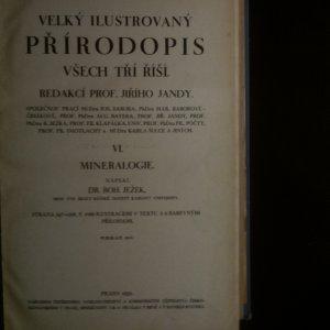 antikvární kniha Velký ilustrovaný přírodopis všech tří říší (VI. Mineralogie), 1932