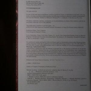 antikvární kniha Multiple Myeloma. Methods and Protocols, neuveden