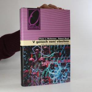 náhled knihy - V genech není všechno