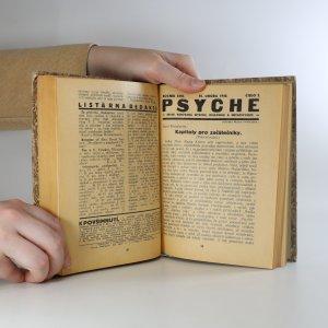 antikvární kniha Psyche. Ročník 16. čísla 1.-10. a ročník 17. čísla 1.-6., 1939-1940
