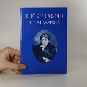 náhled knihy - Klíč k theosofii