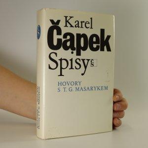 náhled knihy - Hovory s T.G. Masarykem (Spisy XX.)