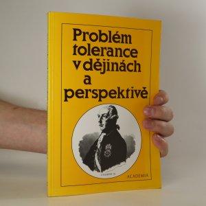 náhled knihy - Problém tolerance v dějinách a perspektivě