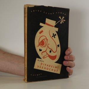 náhled knihy - Divadelní všehochuť. Herecké vzpomínky