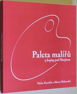 náhled knihy - Paleta malířů z krajiny pod Hostýnem