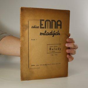náhled knihy - Balady a j. poesie, 1938 až 1942