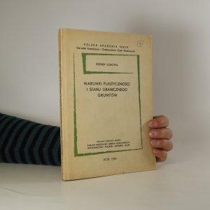 náhled knihy - Warunki plastyczności i stanu granicznego gruntów (Plasticity a okrajové podmínky půdy)