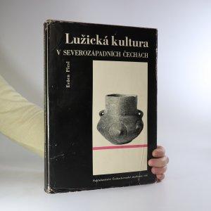 náhled knihy - Lužická kultura v severozápadních Čechách (žluté flíčky na ořízce, je cítit zatuchlinou)