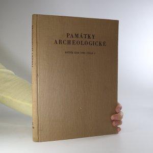 náhled knihy - Památky archeologické. Ročník 49/1958, č. 2 (je cítit zatuchlinou)