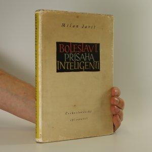 náhled knihy - Boleslav I. Přísaha. Inteligenti