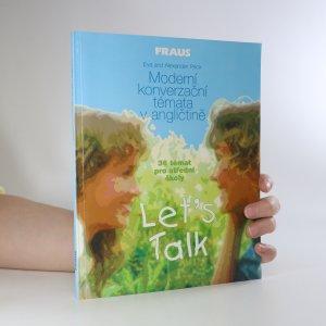 náhled knihy - Let's Talk. Moderní konverzační témata v angličtině