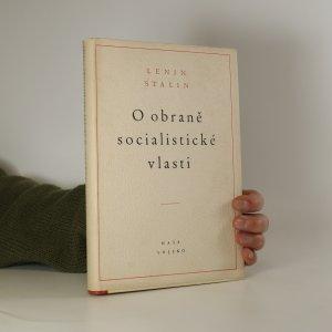 náhled knihy - O obraně socialistické vlasti