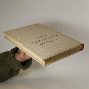 antikvární kniha O obraně socialistické vlasti, 1950