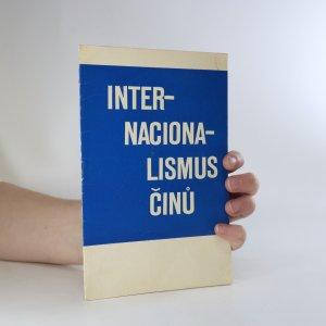 náhled knihy - Internacionalismus činů