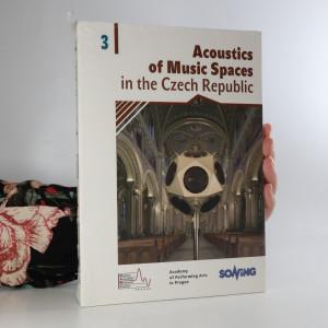náhled knihy - Acoustics of Music Spaces in the Czech Republic 3. Akustika hudebních prostorů v České Republice