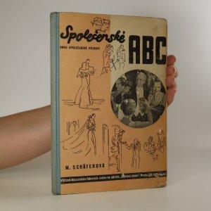 náhled knihy - Společenské A.B.C.