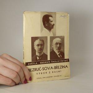 náhled knihy - Bezruč, Sova, Březina. Výbor z básní