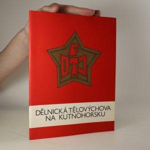 náhled knihy - Dělnická tělovýchova na Kutnohorsku