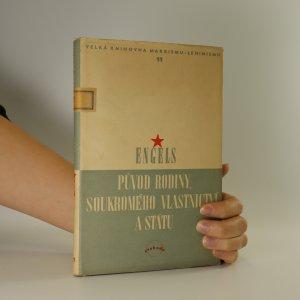 náhled knihy - Původ rodiny, soukromého vlastnictví a státu