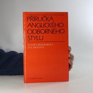 náhled knihy - Příručka anglického odborného stylu