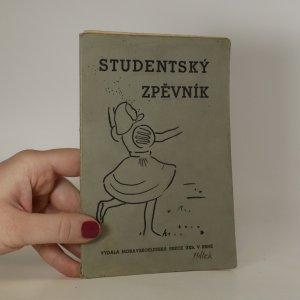 náhled knihy - Studentský zpěvník