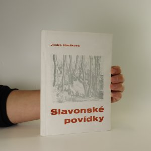 náhled knihy - Slavonské povídky (pravděpodobně s podpisem autorky)