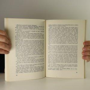 antikvární kniha Slavonské povídky (pravděpodobně s podpisem autorky), 1971