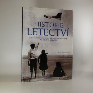 náhled knihy - Historie letectví