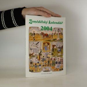 náhled knihy - Zemědělský kalendář 2004