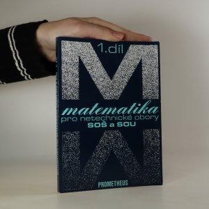 náhled knihy - Matematika pro netechnické obory SOŠ  a SOU 1. díl