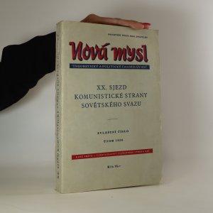 náhled knihy - Nová mysl. XX. sjezd komunistické strany sovětského svazu