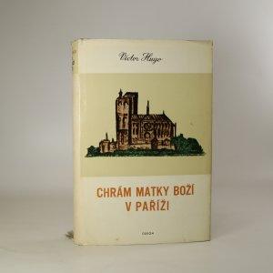 náhled knihy - Chrám Matky Boží v Paříži