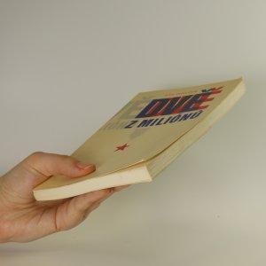 antikvární kniha Dvě z miliónů, 1978