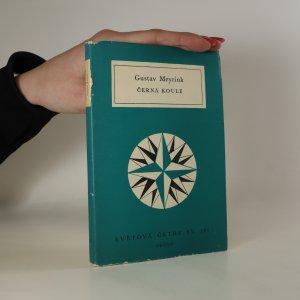 náhled knihy - Černá koule