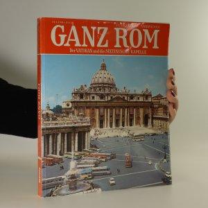 náhled knihy - Ganz Rom. Der Vatikan und die Sixtinische Kapelle