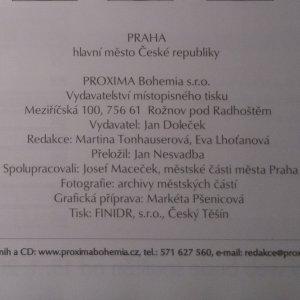 antikvární kniha Praha hlavní město České republiky, neuveden