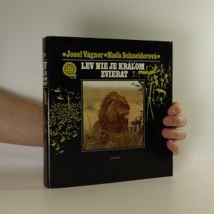 náhled knihy - Lev nie je kráľom zvierat