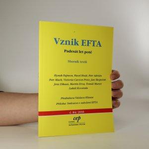 náhled knihy - Vznik EFTA. Padesát let poté