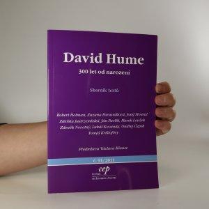 náhled knihy - David Hume. 300 let od narození