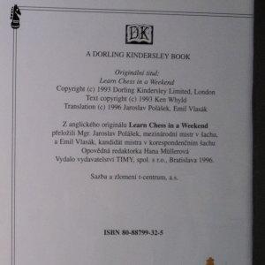 antikvární kniha Šachy. Základní hry, strategie a taktika, 1996