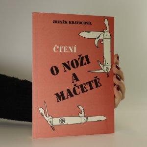 náhled knihy - Čtení o noži a mačetě (chybí tiráž)