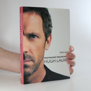 náhled knihy - Nespokojený melancholik Hugh Laurie